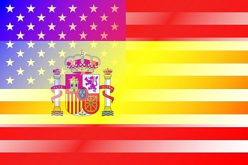 испанский флаг картинки